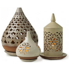 Eclectic Candleholders by VivaTerra