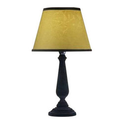 "All the Rages - All the Rages LT2011 Simple Designs 14.96"" Height 1 Light Table Lamp - Specifications:"