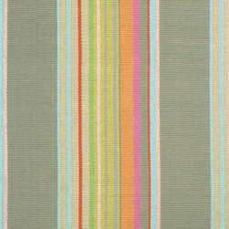 Stone Soup Woven Cotton Rug - Add a runner to your hallway or stitch a few together and run them up your stairs. I love this striped one that would work well with lots of different wall colors.