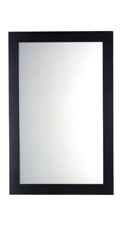 """American Standard - American Standard 9445.101.339 Freedom Of Choice Cardiff Mirror, Espresso - This American Standard 9445.101.339 Freedom Of Choice Cardiff Mirror is part of the Cardiff collection, and comes in a beautiful Espresso finish. This rectangular mirror features a poplar wood construction and birch veneers, and it measures 22"""" by 34""""."""
