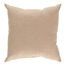 "Surya - Square Pillow ZZ-428 - 13"" x 20"" - Looking for a piece that surpasses current trend and will remain timeless in your indoor or outdoor space for years to come? This is the pillow for you. Featuring a functional solid coloring in light brown, this piece fashions a sophisticated, simple look that easily translates from room to room. This pillow provides a reliable and affordable solution to updating your indoor or outdoor decor."