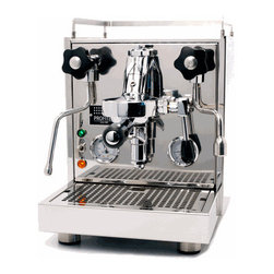 Profitec - Profitec Pro 500 - The Pro 500 is a prosumer grade semi-automatic espresso machine designed by Profitec to be both functional and user friendly. As part of their endeavor to bridge the gap between professional technology and engineering, the Pro 500 includes numerous high quality components such as the much renowned E61 brew group, the copper and braided steel water  tubing, or the Ulka EX5 vibration pump.