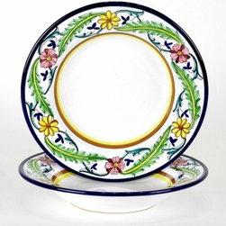 Artistica - Hand Made in Italy - Corona: Pasta/Soup Bowl - Corona Collection.