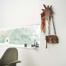 Rin - Wooden Hanger for Clothes, Hats, Bags and Accessories, Modern Home Decor - Rin wooden hanger adds a nice accent to any room.