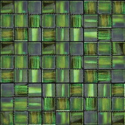 C to C Tile Glass Mosaics - Crystal Glass