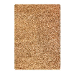 """MAT Orange Cosmo Beige Rug - 5'2""""x7'6"""" - The rugs in this collection are all inspired by urban lanandscapes, making way for a statement where texture, shape, and line are the form. The rug's texture and the marriage of colors speak to the contemporary room. """"It is the art piece on the floor.  Because of the artistic quality ofThe rugs they are easily used in modern as well as traditional interiors. Pile Height:2 Inches"""
