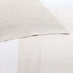 Pine Cone Hill - parchment linen pillowcase (sand) - This item comes in��sand.��This item size is��various sizes.