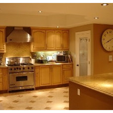 Mediterranean Kitchen by Los Angeles Remodeling and Construction