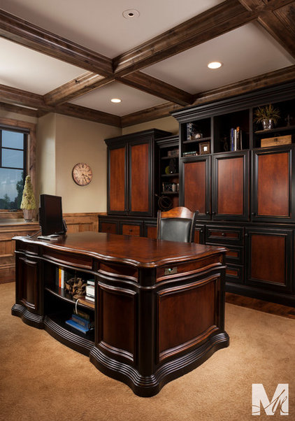 Traditional Home Office Accessories by Masterpiece Millwork & Door