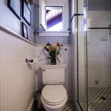 Craftsman Bathroom by Pretty Smart
