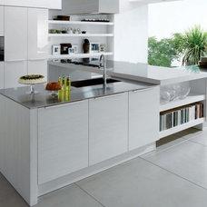 Modern Kitchen Cabinetry by slave 2 european design