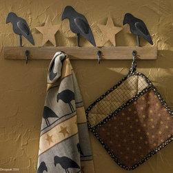 Olde Crow Triple Wall Hook -