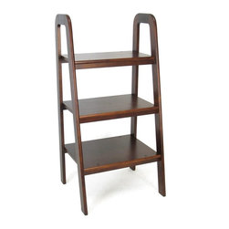 Wayborn - Wayborn Ladder Stand - 9076 - Shop for Ladders from Hayneedle.com! Add style to any room with this elegantly designed ladder stand. The Wayborn Ladder Stand can be used to display a variety of things including exotic potted plants collectibles and books. Sturdily built this three-tier ladder style stand is made of birch wood with a smooth finish in your choice of color. It's strong and functional and built to last. With a stylish yet practical appeal this stand can complement most decor themes.