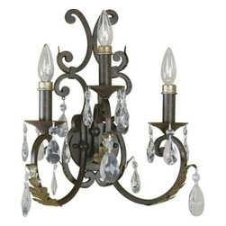Small Electric Wall Sconces : Shop Candle Chandelier Non Electric Wall Sconces on Houzz