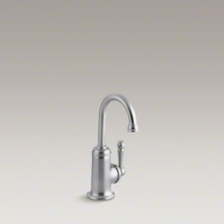 KOHLER - KOHLER Wellspring(R) beverage faucet with traditional design and components to c - This Wellspring traditional beverage faucet adds convenience and elegance to your kitchen for streamlined entertaining. An included filtration system provides easy access to pure, refreshing drinking water when paired with a compatible cartridge. A goosen