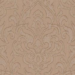 """AS Creation - Bohemian 946928 Wallpaper - Double Roll - Vintage at its best Romantic designer wallpaper that seem to have survived from times past, radiating a unique charm precisely through their patina effect; lavish floral patterns and designs with an oriental feel that are an enrichment to any room; silky-smooth segments alternating with delicate hatching, and restrained stripes and plains in a subtle, silk-like structure to provide the harmonious accompaniment: An iridescent sheen seems to lie over the wallpapers of the """"Bohemian"""" collection in their shades of cr��_me, caramel, lime green, water blue, violet and copper red, shot through with silver, gold and mother-of-pearl. The result is an exquisite vintage flair. Made in Germany"""