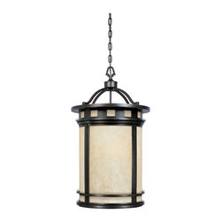 Designers Fountain - Designers Fountain Sedona Outdoor Lighting Fixture - Shown in picture: 3 Light Foyer in Oil Rubbed Bronze finish