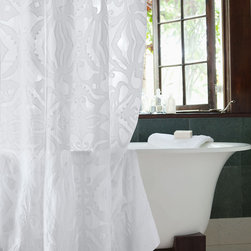 Traditional Shower Curtains -