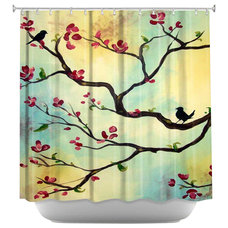 Eclectic Shower Curtains by DiaNoche Designs