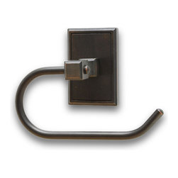 Residential Essentials - Venetian Bronze Hamilton Euro Holder(RE2507VB) - Venetian Bronze Hamilton Euro Holder