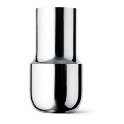 Menu - GamFratesi Tactile Vase, Tall - It's all in the mix. Expressing the raw and the delicate using both matte and polished finish to make something familiar, seem brand new.