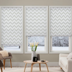 Waverly Roman Shades Airwaves Smoke - Waverly Airwaves Flat Fold Light Filtering Roman Shades offers everything you need for design inspiration allowing you to create window shades that are uniquely your own. Waverly light filtering roman shades allows natural light to filter in while maintaining some privacy. Waverly Roman Shades combine the beauty of drapery fabrics with the benefit of window treatment. You can upgrade to cordless and continuous cord loop lifting system.