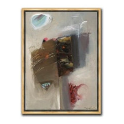 """Stephen Capiz - Study for Bronze 10 x 13 Print - """"Study for Bronze"""" is a contemporary canvas giclee by Stephen Capiz. We present this to you in a 1/2"""" gold floater frame with no lip or edge of frame overlapping the face of your picture. This makes for an overall framed size of 10 x 13."""