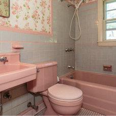 Living with Vintage Bathroom Tile