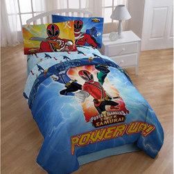 Power Rangers Samurai Twin-size 4-piece Comforter Set -