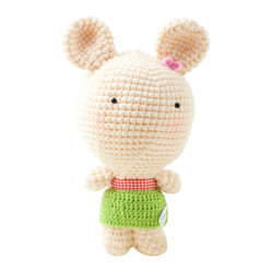 Barbara Bunny - Handmade Crochet Soft Toy