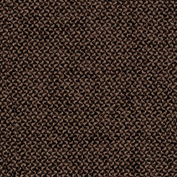 Hourglass Mocha Fabric - A solid color material using boucle and chenille yarns creates a unique look and a very soft hand. Very durable and works well with many modern designs despite having a classic, tightly tailored look. This fabric has a soil and stain resistant finish that works as a soil and stain repellent.