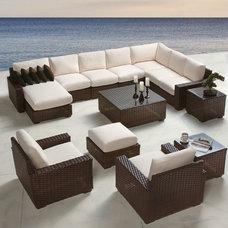Contemporary Outdoor Sofas by Lloyd Flanders