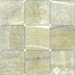 Giallo Crystal Onyx 4x4 Tumbled - Call to order: 1-877-558-8484