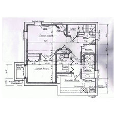 Contemporary Floor Plan Basement of the Week: Modern Lower Level