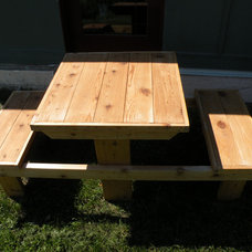 Outdoor Dining Tables by Craft Wright Woodworking