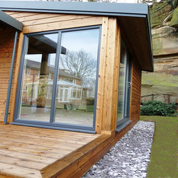 Timber Framed Cabin - Stom Design