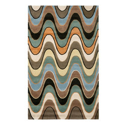 Safavieh - Contemporary Wyndham Square 7' Square Multi Color Area Rug - The Wyndham area rug Collection offers an affordable assortment of Contemporary stylings. Wyndham features a blend of natural Multi Color color. Hand Tufted of Wool the Wyndham Collection is an intriguing compliment to any decor.
