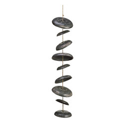 Silk Plants Direct - Silk Plants Direct Ceramic Wind Chime (Pack of 1) - Silk Plants Direct specializes in manufacturing, design and supply of the most life-like, premium quality artificial plants, trees, flowers, arrangements, topiaries and containers for home, office and commercial use. Our Ceramic Wind Chime includes the following: