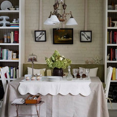 Traditional Dining Room by Jean Stephane Beauchamp Design