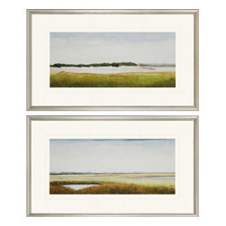 Paragon - Marshlands II PK/2 - Framed Art - Each product is custom made upon order so there might be small variations from the picture displayed. No two pieces are exactly alike.