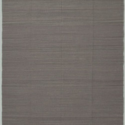 Jaipur - Solid/Striped Nuance 8'x10' Rectangle Stone Gray-Stone Gray Area Rug - The Nuance area rug Collection offers an affordable assortment of Solid/Striped stylings. Nuance features a blend of natural Stone Gray-Stone Gray color. Flat Weave of 100% Wool the Nuance Collection is an intriguing compliment to any decor.