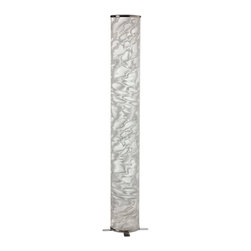 Dainolite - Dainolite DSTX771F 1 Light Floor Lamp White Ice Shade - Dainolite DSTX771F 1 Light Floor Lamp White Ice Shade