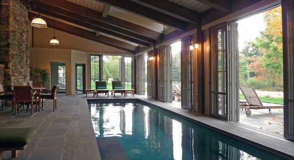 Traditional Pool by Paul Francis Shurtleff   Architect