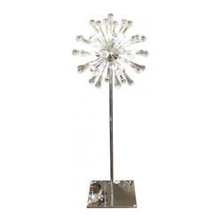 great looking floor lamp with lots of design interest it has a big. Black Bedroom Furniture Sets. Home Design Ideas