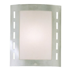 Eglo USA - Eglo USA City 82302A Ceiling Light Multicolor - 82302A - Shop for Wall Mounted from Hayneedle.com! Modern yet subtle the Eglo USA City 82302A Ceiling Light illuminates gracefully. This ceiling light features a stainless steel frame with urban cut-out pattern and frost white glass shade.About EGLOEGLO Group is an international enterprise with Tyrolean roots. At home all over the world this company blends Austrian traditions with cultural influences for a varied and creative product range. EGLO was founded in 1969 by Ludwig Obwieser and launched as EGLO Leuchten in Austria. For over 40 years they have evolved into a leading manufacturer of decorative interior lighting. EGLO creates trends. Over 90% of their lighting products are designed in-house and come from constant exchanges with customers suppliers and respected designers. EGLO: my light my style.