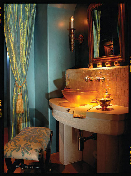 Eclectic Powder Room by Carson Poetzl, Inc.