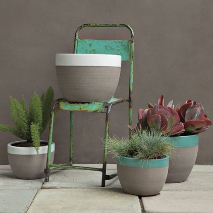 Contemporary Outdoor Pots And Planters by West Elm