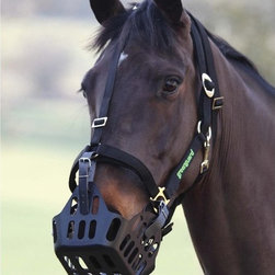 Shires - Shires Equestrian Greenguard Grazing Muzzle - 5415-SMALL - Shop for Muzzles from Hayneedle.com! Control the grass intake of your horse with the simple Shires Equestrian Greenguard Grazing Muzzle. Easy to attach and adjust this muzzle is UV resistant and allows for unrestricted breathing and drinking.About Shires Equestrian ProductsShires Equestrian was started in 1968 and over the past 40 years has become one of the leading names in equestrian equipment for horse and rider. They have one of the most comprehensive ranges of horse clothing and have become one of the most popular brands in the equestrian world. In 2011 Shires Equestrian was nominated trade supplier of the year by the British Equipment Trade Association (BETA). Shires Equestrian has all you need including horse rugs leatherwork riding clothing riding hats footwear grooming gear stable equipment and more.