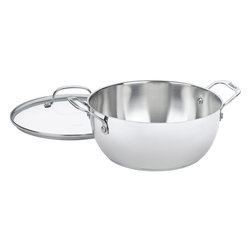 Cuisinart - Cuisinart Chef's Classic Stainless Steel 5.5-Quart Multi-Purpose Pot - Brilliant stainless steel finish for a classic look and professional performance