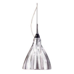 """Axo - Axo Blum DEC suspension lamp - W/OFF SET (1 light) - The 1 light Blum with off set wiring suspension lamp from Axo was designed by Marcello Furlan and made in Italy. The 1 light Blum suspension lamp is for indoor installation and is made with chrome-plated parts and a blown glass diffuser. Available in transparent or chrome-plated glass versions.   Products description: The 1 light Blum DEC with off set wiring suspension lamp from Axo was designed by Marcello Furlan and made in Italy. The 1 light Blum suspension lamp is for indoor installation and is made with chrome-plated parts and a blown glass diffuser. Available in transparent or chrome-plated glass versions. Details:                         Manufacturer:                         Axo                                         Designer:                         Marcello Furlan                                         Made  in:            Italy                            Dimensions:                         Height: 59"""" (150cm) X Width: 7 7/8"""" (20cm)                                                     Light bulb:                                      1 X 60W E12 Incandecent                                         Material                         Metal, glass"""